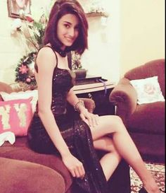 Gorgeous Sona in black dress...