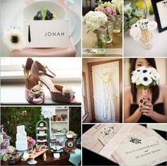 Pink Wedding Inspiration Wedding Inspiration Boards Photos on WeddingWire