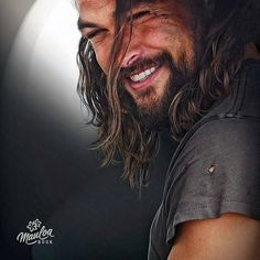 One of the most beautiful men on this earth, Jason Momoa Jason Momoa Aquaman, Aquaman Actor, Look Man, Hommes Sexy, Good Looking Men, Man Crush, Gorgeous Men, Beautiful Smile, Absolutely Gorgeous