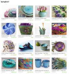Springfever! by Catherine Smith on Etsy  Check out all these lovelies, just in time for spring.  https://www.etsy.com/treasury/MTg3NTYzMDl8MjcyMTUyNTA0NQ/springfever?ref=pr_treasury  My ceramic mug and juice cup set is in this collection.  Here is the link to see it if you would like to see it closer.  https://www.etsy.com/listing/118319004/ceramic-mug-and-cup-set-coffee-mug-juice?ref=tre-2721525045-15