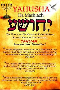 Shalom ! http://yahshuaeselmashiaj.blogspot.com/