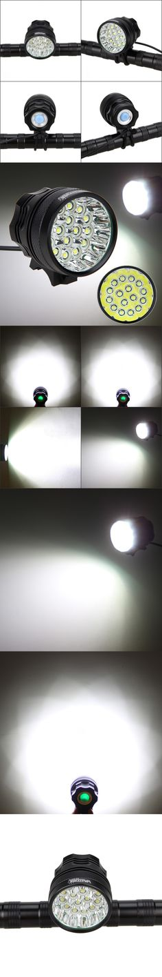 Bright 20000lm Bicycle Light 3 Modes Cycling Lamp Super Waterproof 16x XML T6 LED Bike Light Headlight Aluminum Bike Accessories