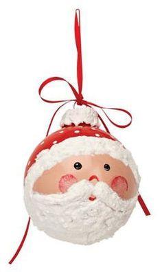 Santa ornament