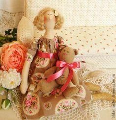 Куклы Тильды ручной работы. Ярмарка Мастеров - ручная работа Любимая игрушка. Handmade.