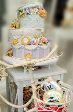 WEDDING EVENT CAKES by Donna's Sweets & Events - Vintage Style Limoges Boxes Special Event Wedding cakes by Donna Chalas