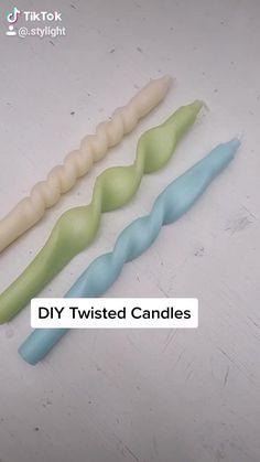 Diy Crafts Hacks, Diy Home Crafts, Diy Arts And Crafts, Cute Crafts, Diys, Diy Crafts Videos, Diy Videos, Diy Candles, Diy Candle Ideas
