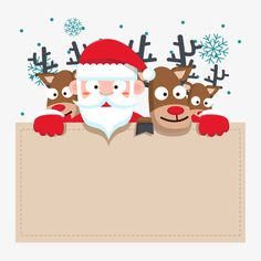 Christmas elements, Santa Claus, Elk, Flat PNG and Vector Happy Christmas Day, Noel Christmas, Christmas Design, Christmas Crafts, Christmas Decorations, Vector Christmas, Christmas Background, Christmas Wallpaper, Christmas Hamper