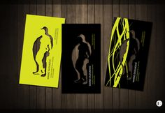 Personal trainer business card by ~CatcherOfSouls on deviantART