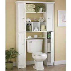 78 Brilliant Small Bathroom Storage Organization Ideas www. 78 Brilliant Small Bathroom Storage Organization Ideas www. Diy Bathroom, Small Bathroom Storage, Bathroom Toilets, Bathroom Shelves, Bathroom Ideas, Over Toilet Storage, Bathroom Closet, Organized Bathroom, Small Storage
