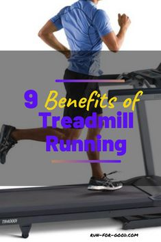 Although many runners prefer outdoor runs, there are plenty of advantages to running on a treadmill. Here are some benefits of treadmill running.  #treadmillrunning