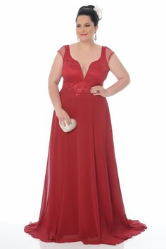 Fesperamor vestidos madrinha plus size, roupas de madrinha, vestido madrinha rosa, vestido de Dresses Elegant, Cute Dresses, Plus Size Party Dresses, Plus Size Outfits, Bridesmaid Dresses, Prom Dresses, Wedding Dresses, Bridesmaids, Vestidos Plus Size
