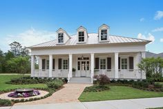 Award winning St Tammany Home Builder - Highland Homes Builds New Homes in St Tammany. St Tammany& most reliable and trusted new custom homes in St Tammany parish. Highland Homes for your new home in St Tammany Acadian Style Homes, Southern Style Homes, Acadian House Plans, Cottage House Plans, House Floor Plans, Farm House, Southern Charm, Tiny House, Southern Front Porches