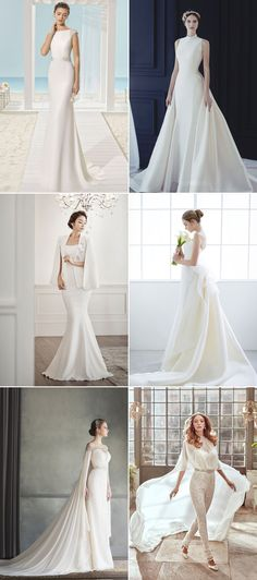 Elegance is the Only Beauty that Never Fades! 22 Elegant Wedding Dresses We…