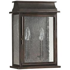 "Capital Bolton 13 3/4"" High Old Bronze Outdoor Wall Light - #3W304 