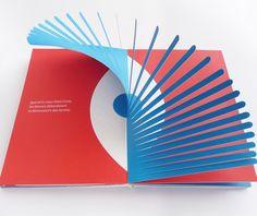 pop up book Pop Up Art, Arte Pop Up, Make Up Art, Paper Design, Book Design, Design Design, Design Ideas, Concertina Book, Paper Engineering