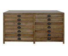 Aleria mid Sideboard - Salvaged Wood