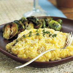 Creamy Butternut Squash Risotto   CookingLight.com