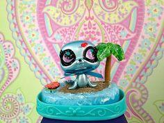 +PERFECT PETS FOR YOUR MONSTER HIGH GOULS:   Littlest Pet Shop Seal House OOAK Custom Hand Painted Littlest Pet Shop LPS | eBay