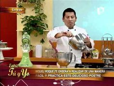 Sabrosa receta de Cheese Cake de manjar blanco - YouTube