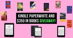 1 lucky winner will win a BRAND NEW Kindle Paperwhite, 2 others will win a PageHabit box, 7 others will win a book from their TBR