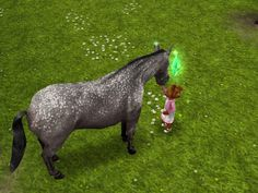 The Sims FreePlay is so cute (to unlock horses complete need for steed quest)