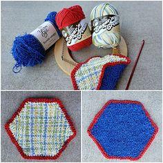 Ravelry: TexasGabi's Beth's Scrubby Pad Pin Weaving, Loom Weaving, Loom Yarn, Scrubby Yarn, Yarn Bee, Royal Colors, Single Crochet Stitch, Washing Clothes, Crochet Stitches
