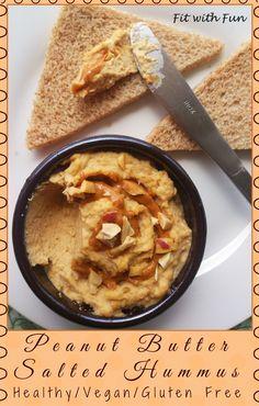 💪 Peanut Butter Salted Hummus 💪 💪 Hummus Salato di Ceci al Burro di Arachidi…