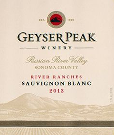 2013 Geyser Peak River Ranches Sauvignon Blanc 750 mL