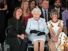 "Look like fashion royalty in an Alexander McQueen dress like Anna Wintour #dailymail #annawintour #londonfashionweek #alexandermcqueen #queen Click ""Visit"" to buy now"