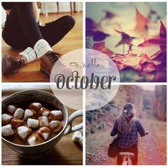 We welcome October...
