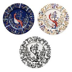 iittala Taika Salad Plates The Taika salad plate completes any iittala table setting and is just right for serving salads, snacks or appetizers. The blue or white backdrop blends perfectly with other iittala collections, making .