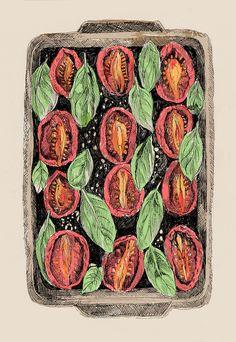 Roasted tomatoes - © May van Millingen