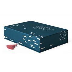 Kimono Box, deep blue