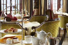 While away the afternoon in The Ascot Bar with a spot of afternoon tea. Why not add some bubbles?