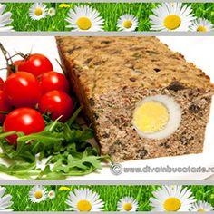 Drob de pui cu ciuperci Meatloaf, Crockpot Recipes, Mashed Potatoes, Banana Bread, Sweets, Chicken, Cooking, Ethnic Recipes, Desserts