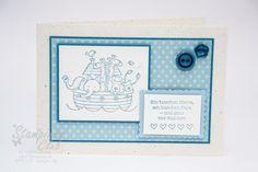 _DSC9887 Stampin Up Karte Geburt Baby Two by Two Fürs Baby Boy Jung_