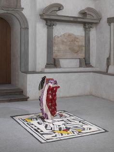 Betty Woodman, installation views at Museo Marino Marini, 2015