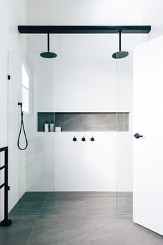 More click [.] Bathroom Shower Design Beautiful Emily Henderson Bathroom Trends 2019 Pioneer Craftsmen 10 Of The Most Exciting Bathroom Design Trends For 2019 Bathroom Trends, Bathroom Renovations, Bathroom Ideas, Remodel Bathroom, Bathroom Inspo, Bathroom Designs, Bling Bathroom, Peach Bathroom, Bathroom Accents