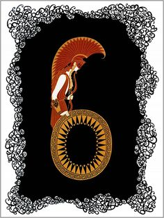 Erte The Number Six
