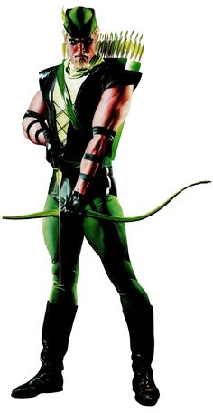 DC Universe Green Arrow Oliver Queen.