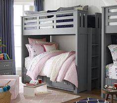 Belden Twin-Over-Twin Bunk Bed #pbkids