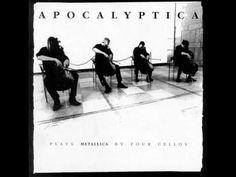 Band: Apocalyptica Song: Master of puppets Album: Plays Metallica By Four Cellos Cellos, Cello Music, Music Songs, Illuminati, Music Love, My Music, Music Clips, Metallica Cover, Enter Sandman