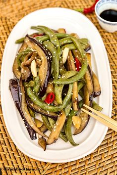 Asian Recipes, Ethnic Recipes, Chinese Recipes, Chinese Food, Japchae, Eggplant, Food And Drink, Cooking Recipes, Ice Cream