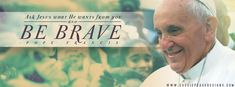Pope Francis cover photo wallpaper #background #art #cassiepease #pope #Catholic #quote #faith