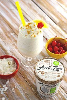 Toasted Coconut Frozen Piña Colada | ARCTIC ZERO | The Pioneer of Fit Frozen Desserts