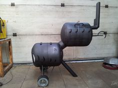 Here We Have A Gas Bottle Wood Burner Chimnea Made From A
