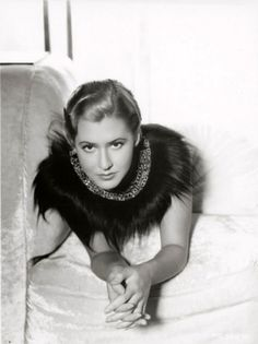Mae Clarke photographed by the legendary George Hurrell.