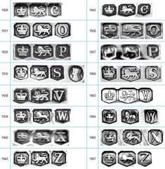 1000 images about jewelry hallmarks on pinterest makers for British jewelry makers marks