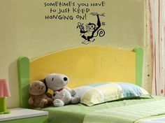 children wall decal quote Sometimes you por WallDecalsAndQuotes