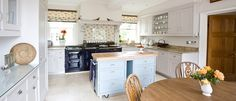 TV Chef & Cookery writer Mary Berry Kitchen Case Study